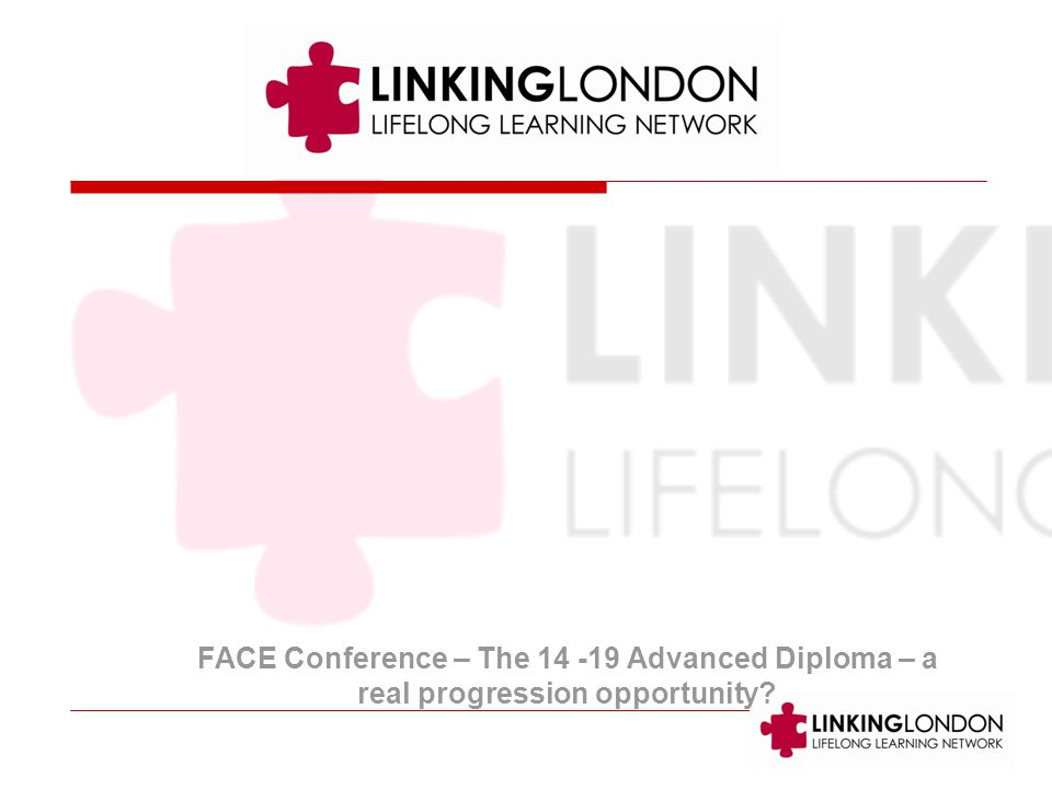 FACE Conference – The Advanced Diploma – a real progression opportunity