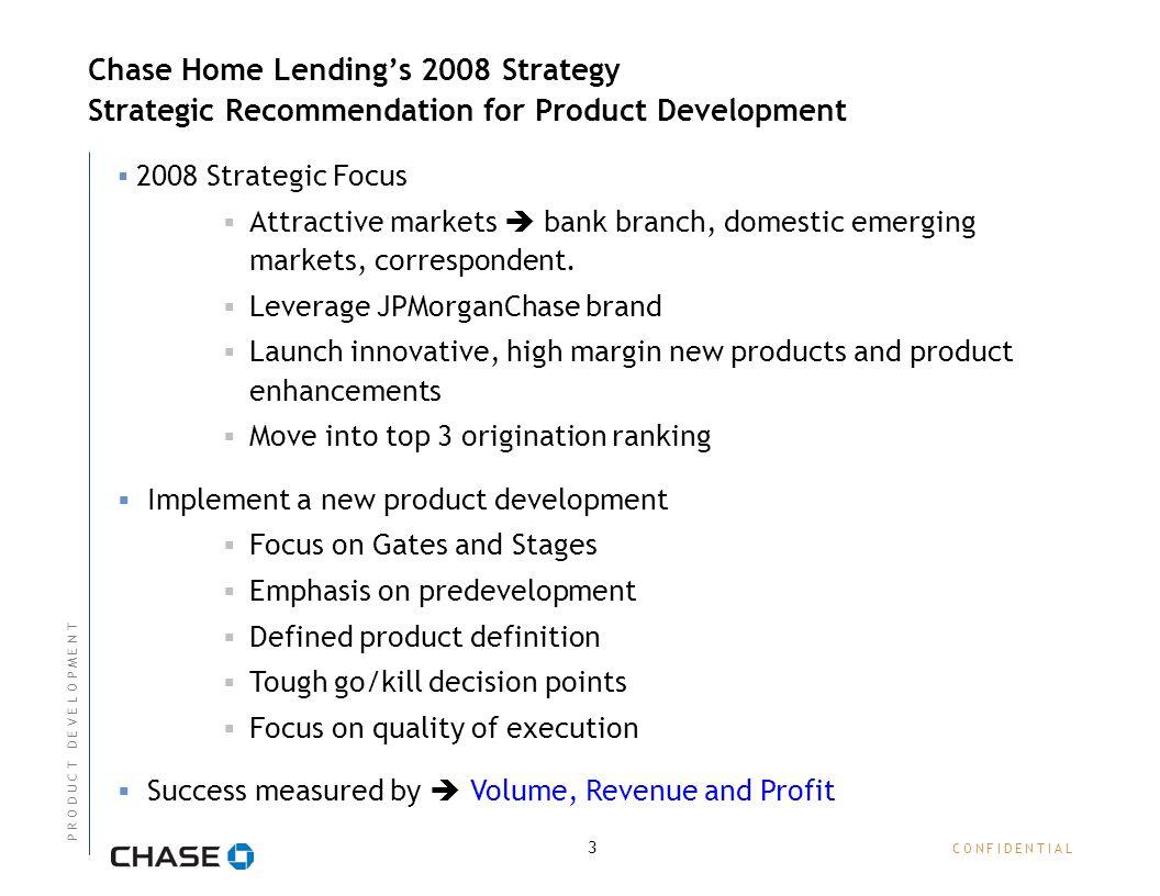 n o v e m b e r chase home lending - new product development process