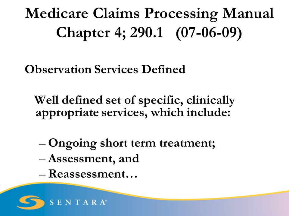 Medicare benefit policy manual chapter 6 hospital services.