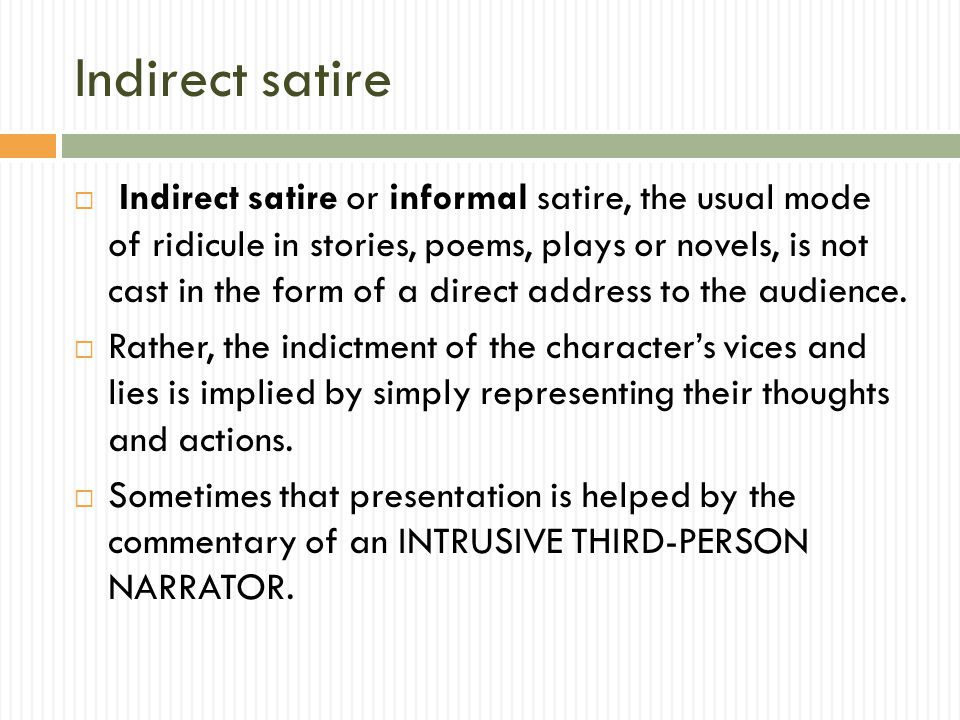 Satire What Are Examples Of Satire That Come To Your Mind Ppt