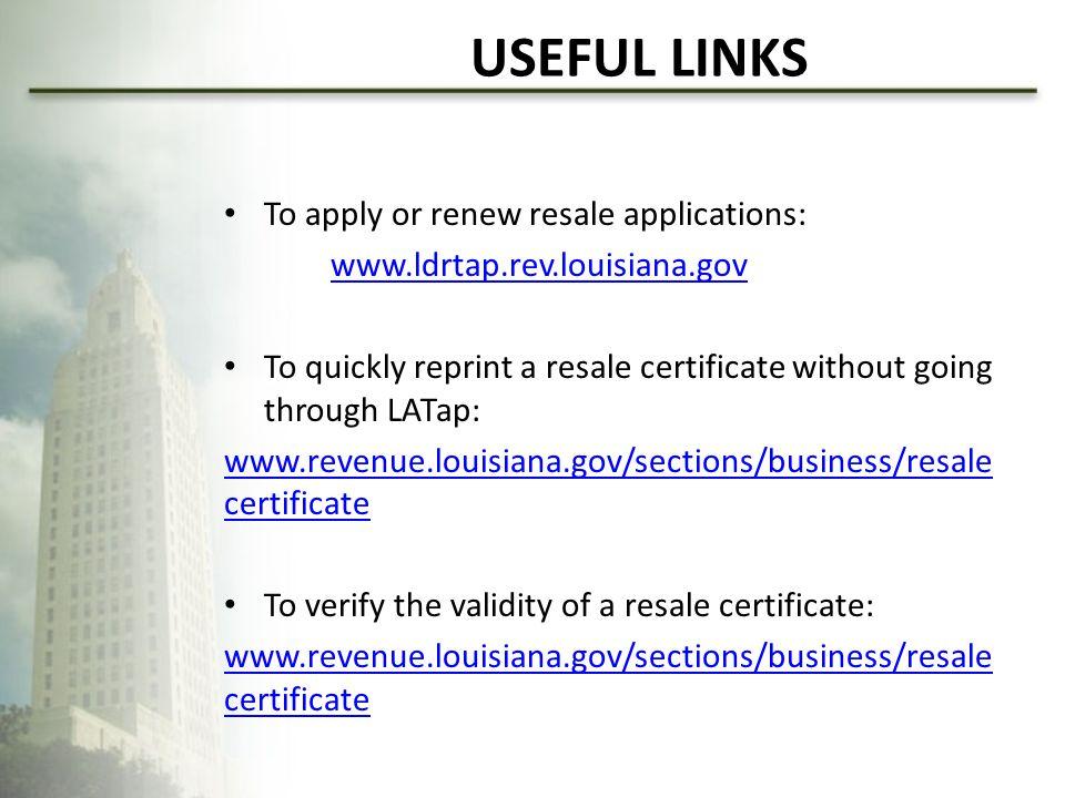 Tax Administration Division Louisiana Department Of Revenue