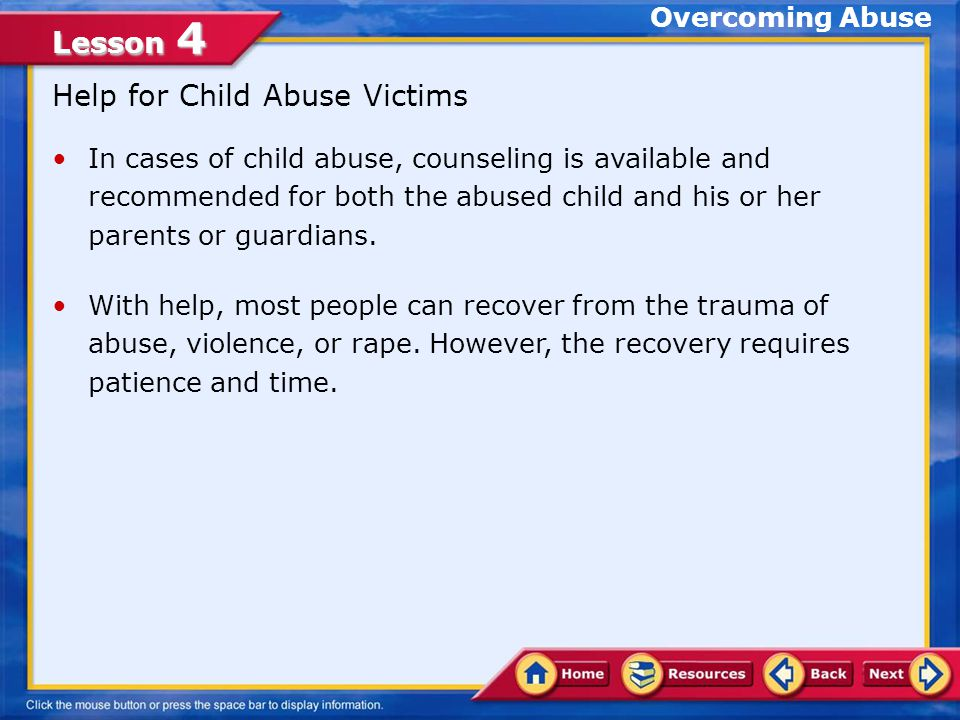 Help for Victims If you or someone you know is raped, call law enforcement officials immediately.