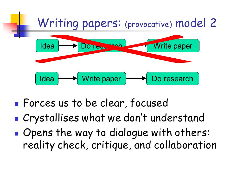 How to write a great research paper Simon Peyton Jones
