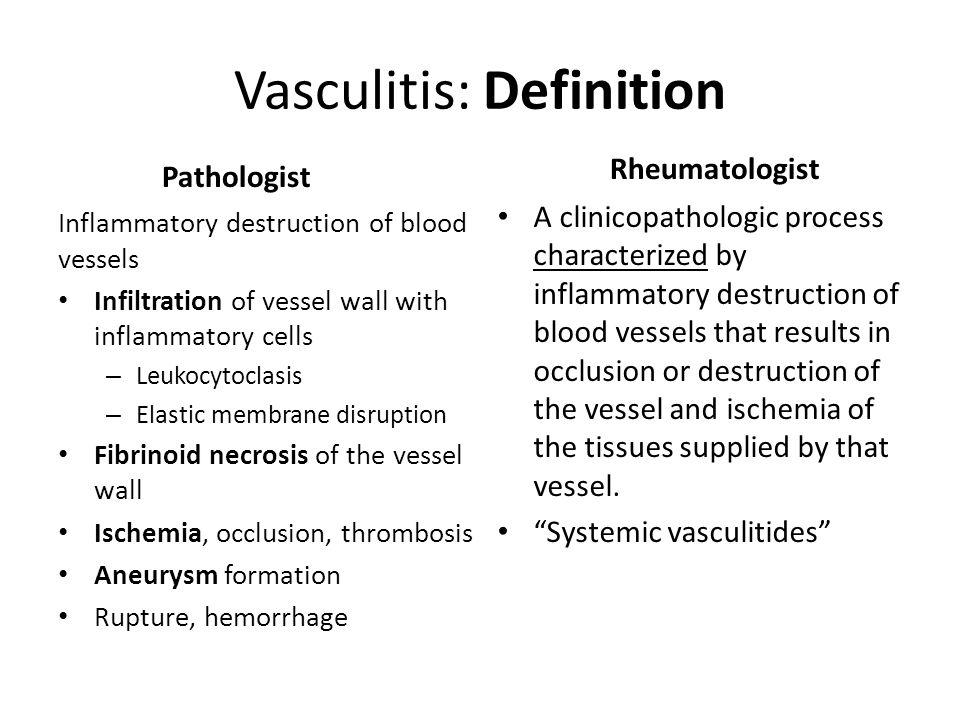 Vasculitis Philip Seo, MD, MHS Co-Director, the Johns Hopkins