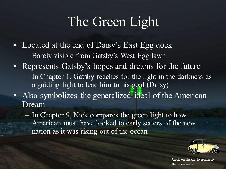 Symbolism In The Great Gatsby Aubrey Wydock American Literature 11