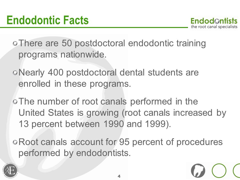 Endodontics and the Dental Student [Insert presenter name