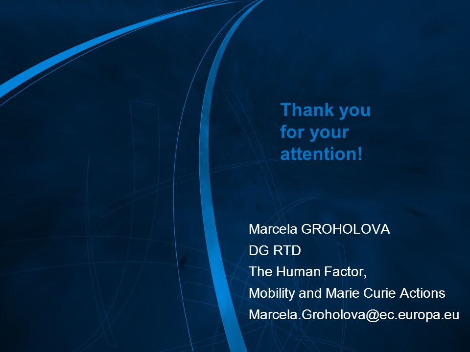 FP7 /22 Thank you for your attention.
