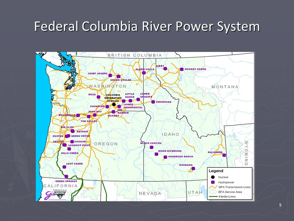 5 Federal Columbia River Power System