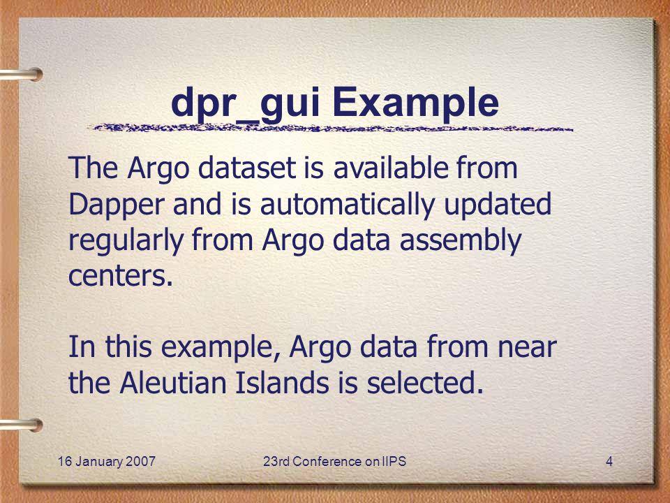 DapperM: A Matlab Interface to Dapper — An OPeNDAP In Situ Data