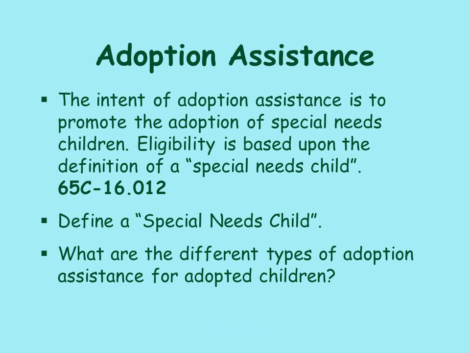 117_PAT_CM_ Adoption §Name three ways that a case may be referred to the adoption program.