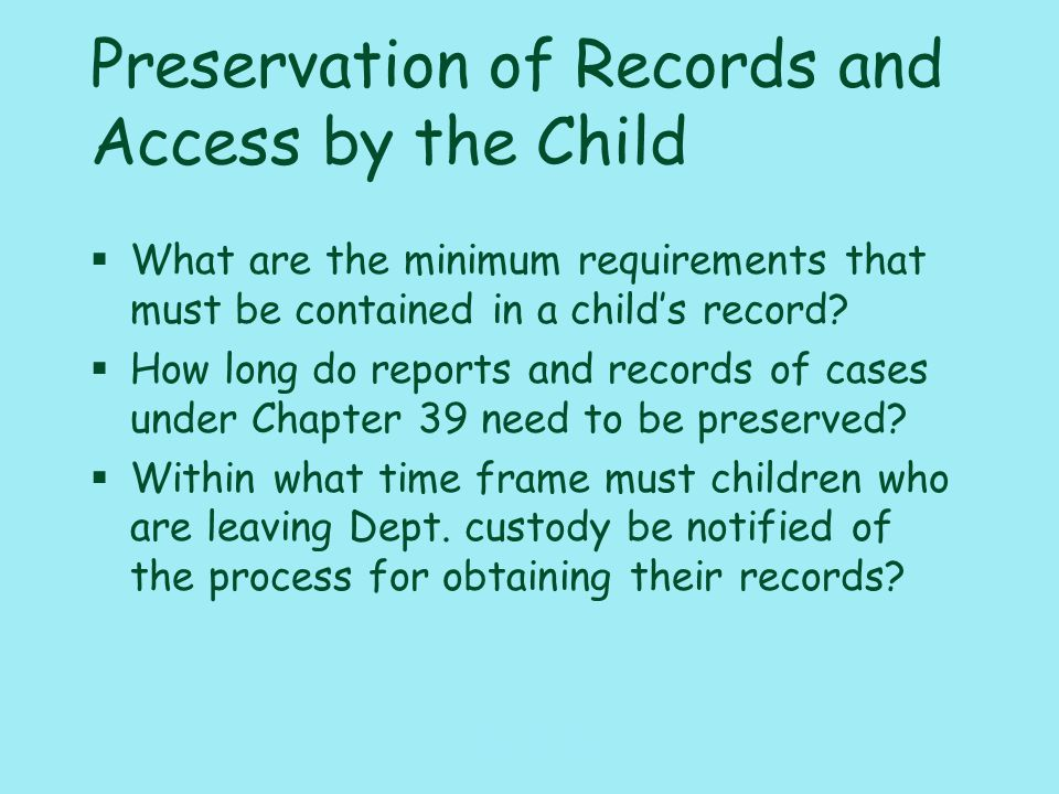117_PAT_CM_ Adoption Finalization §What is the minimum length of time that you must supervise an adoption placement.