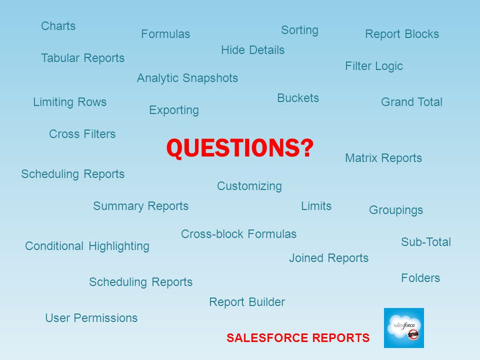 Salesforce Reports: Analyzing Your Data Meghan Butler IT