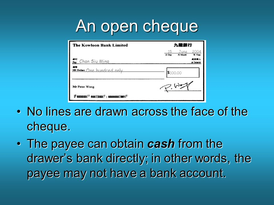 blanque cheque construction Formalities common law has no form requirements for contracts: oral contracts are enforceable consequences of failure of complying with formal requirements vary from statute to statute but include penalties, fines and civil consequences ie.