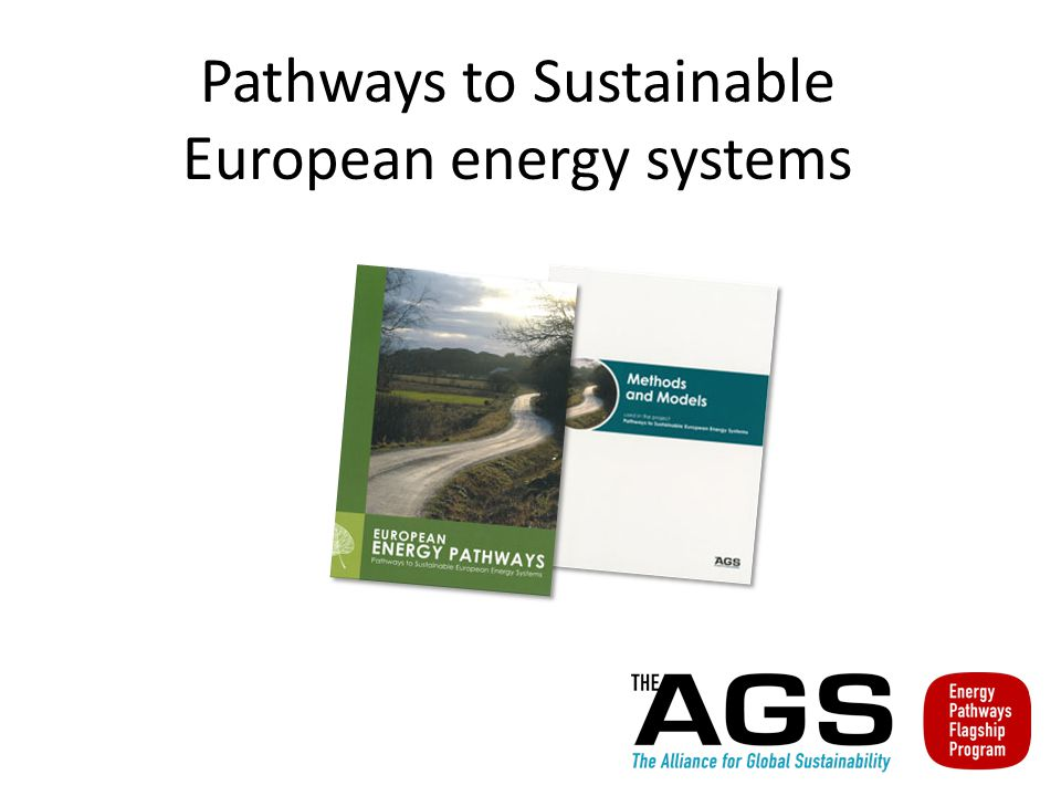 Pathways to Sustainable European energy systems