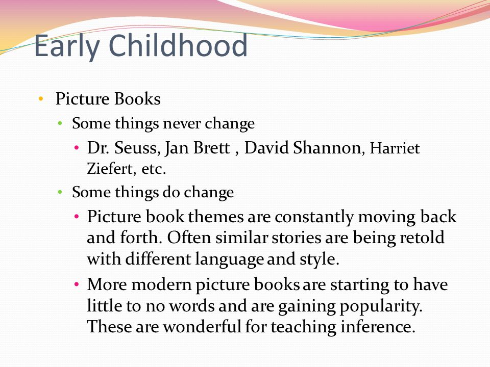 Any book that helps a child to form a habit of reading, to