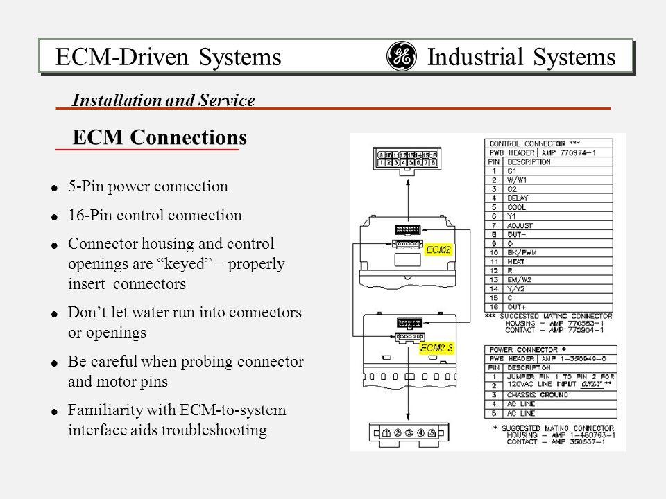 16 Pin Ecm Motor Wiring Diagram - Wiring Data