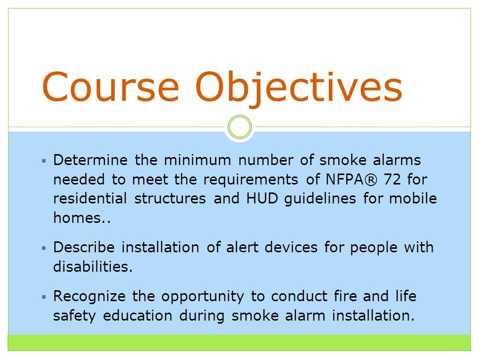 Smoke Alarm Installer Training. Name Organization Please Introduce ...