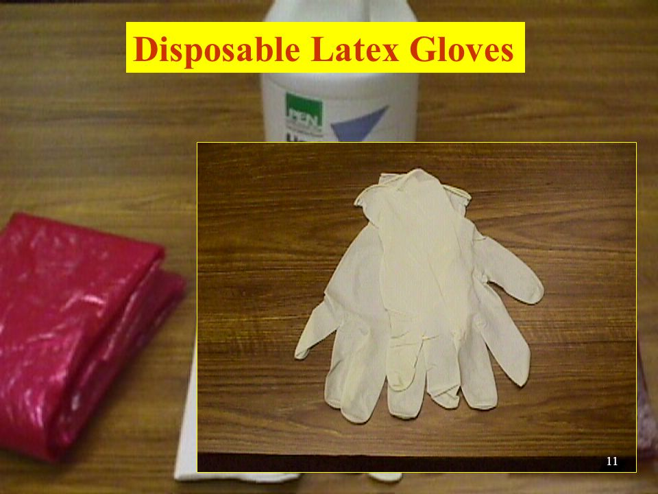 Disposable Latex Gloves 11