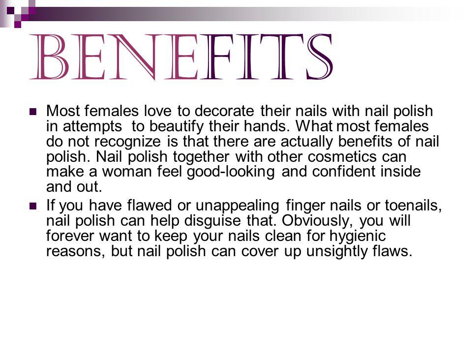 Nail Polish. History Nail polish may have originated with the ...