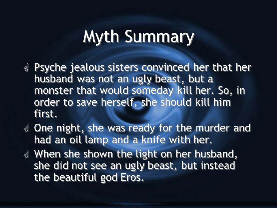 Summary of eros and psyche
