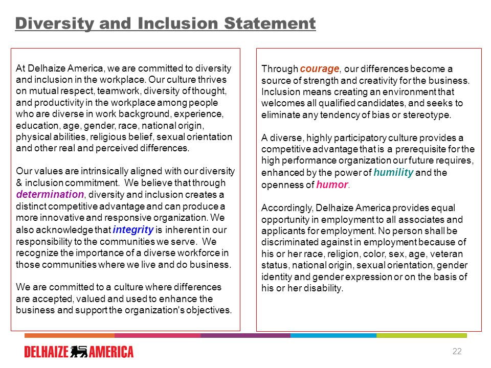Best Practices for Diversity & Inclusion Iredell Human