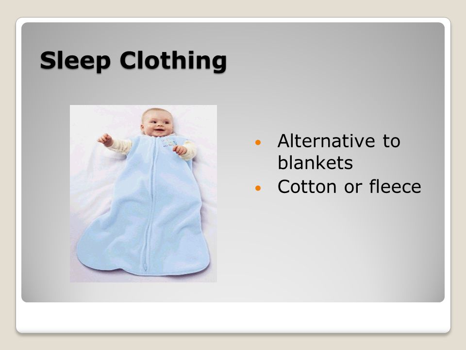 Sleep Clothing Alternative to blankets Cotton or fleece