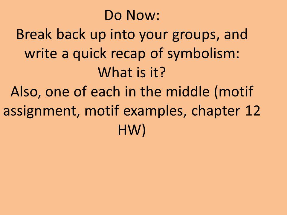 how to write a motif
