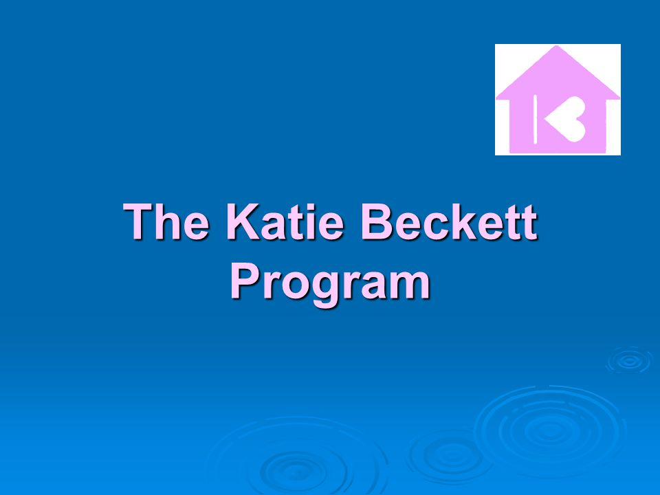 The Katie Beckett Program