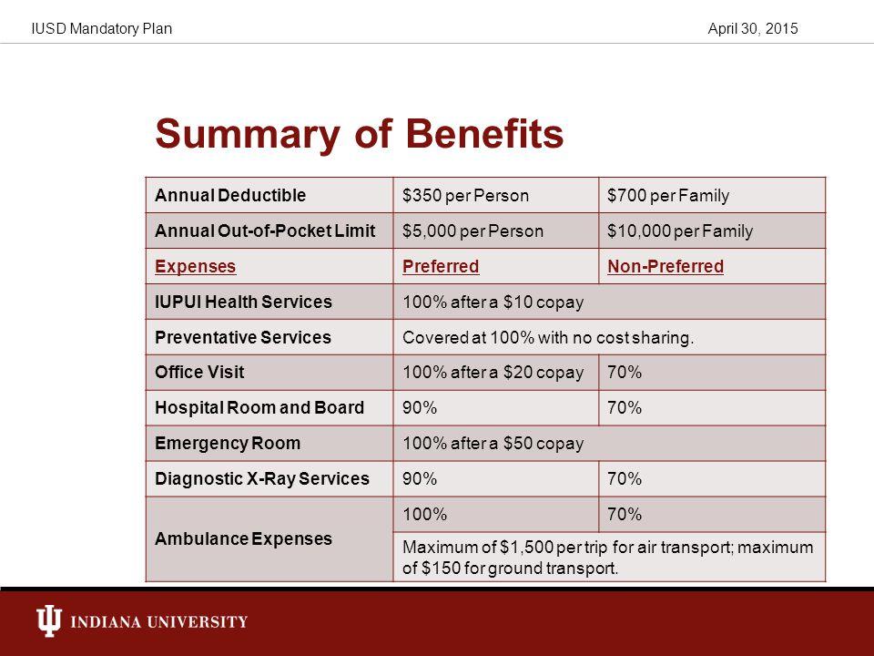 Iusd Mandatory Plan Aetna Student Health Insurance Student Health Insurance Coordinators April 30 Ppt Download