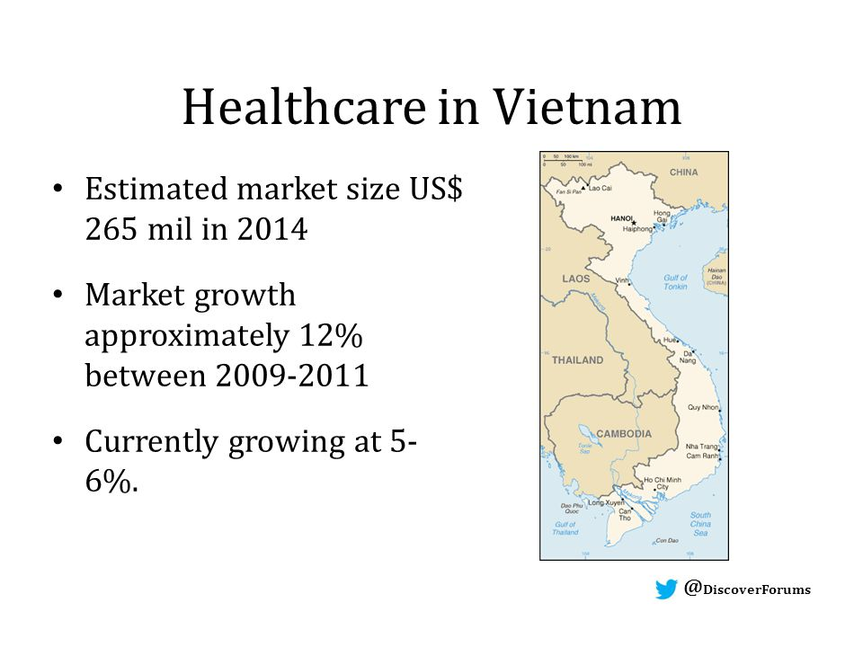 DiscoverForums DiscoverForums Healthcare in Vietnam