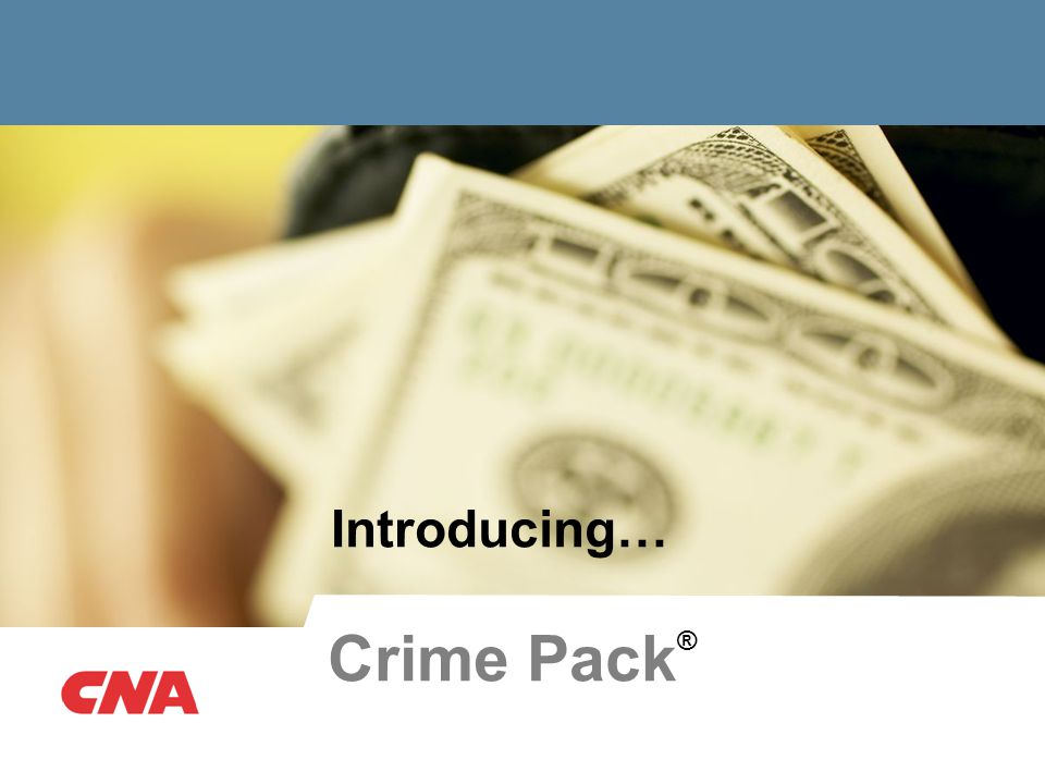 Introducing… Crime Pack ®