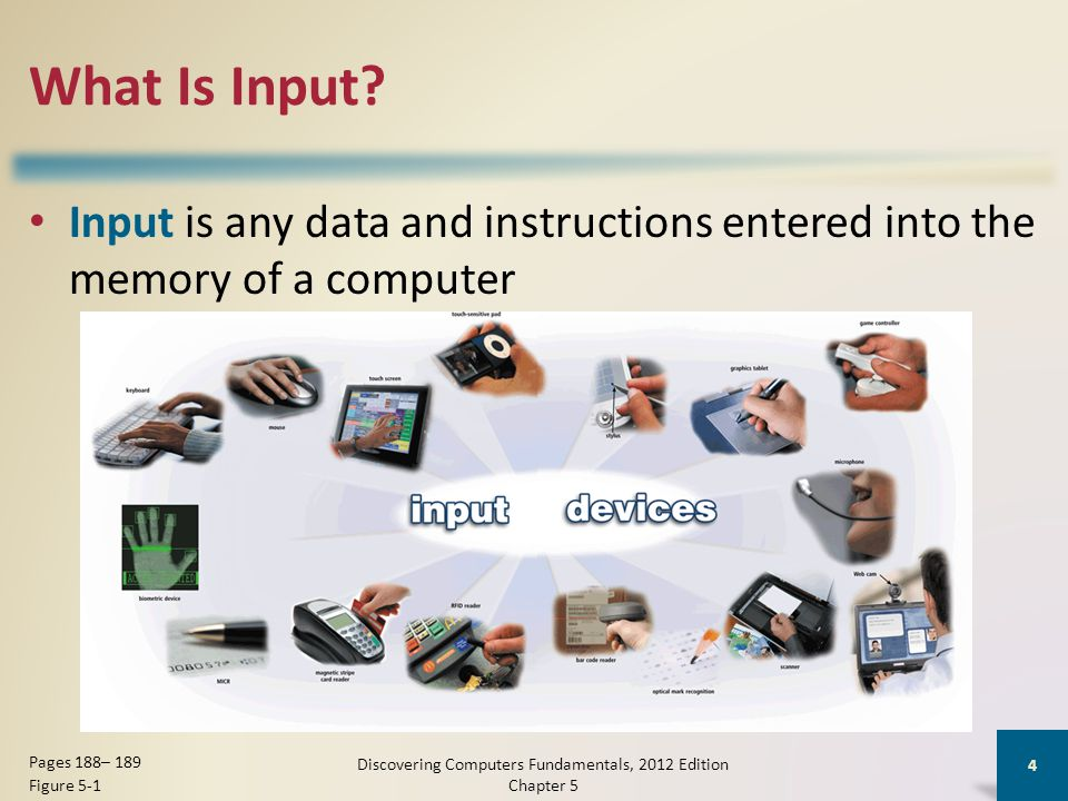 What Is Input.
