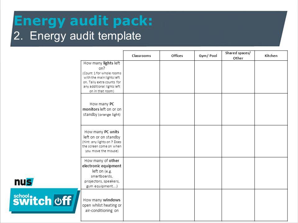 Enchanting Energy Audit Template Elaboration - Resume Ideas ...
