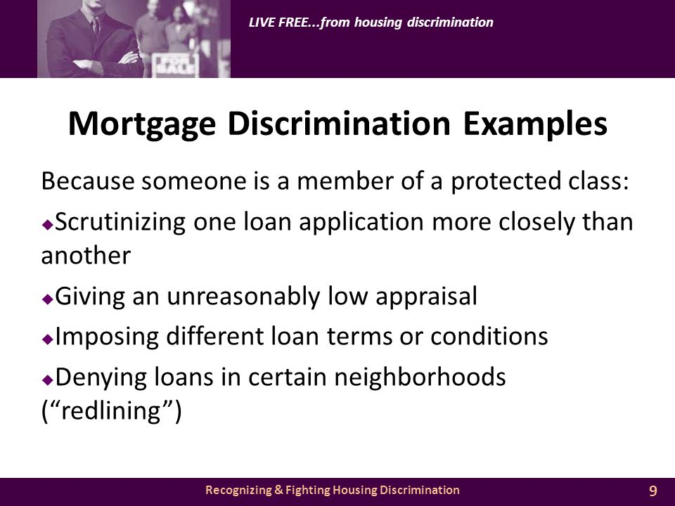 recognizing & fighting housing discrimination live freefrom