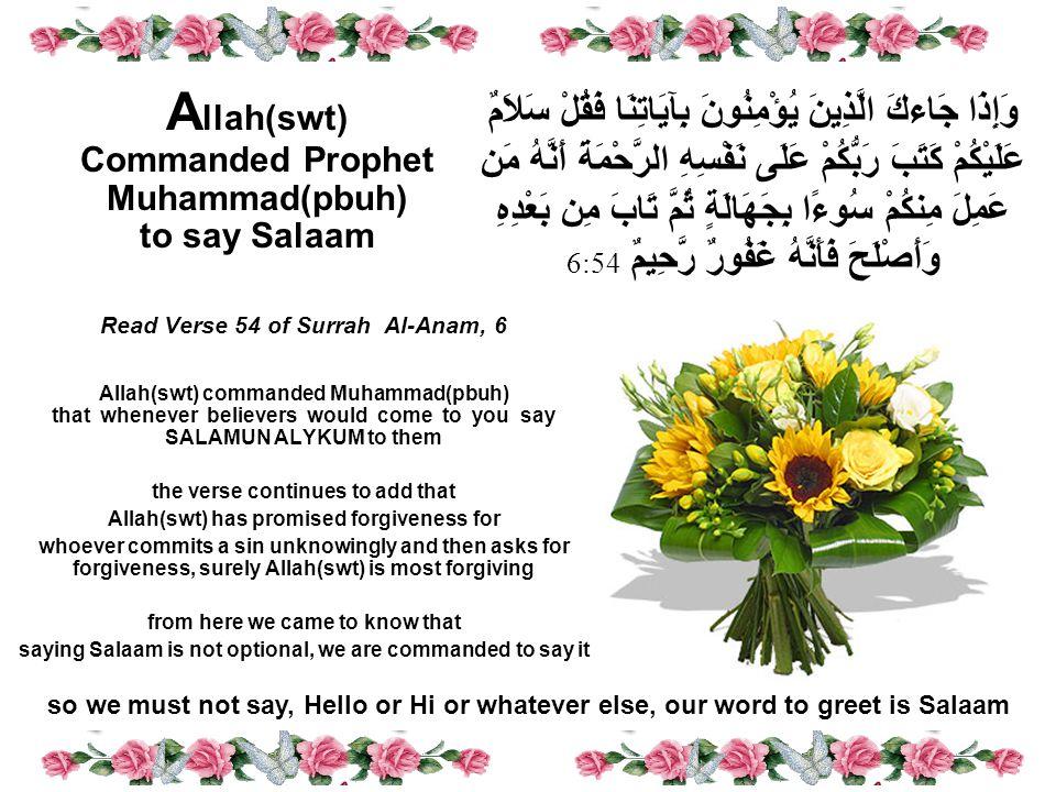 Dear Brothers and Sisters in Islam Asslam o Alykum Wa