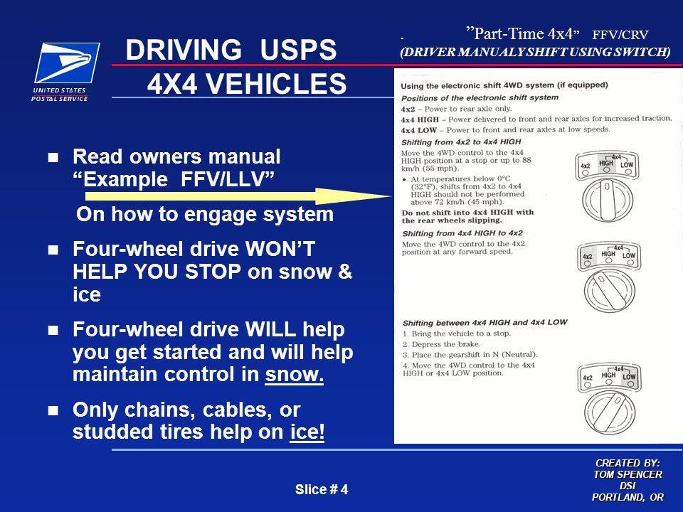 usps llv service manual
