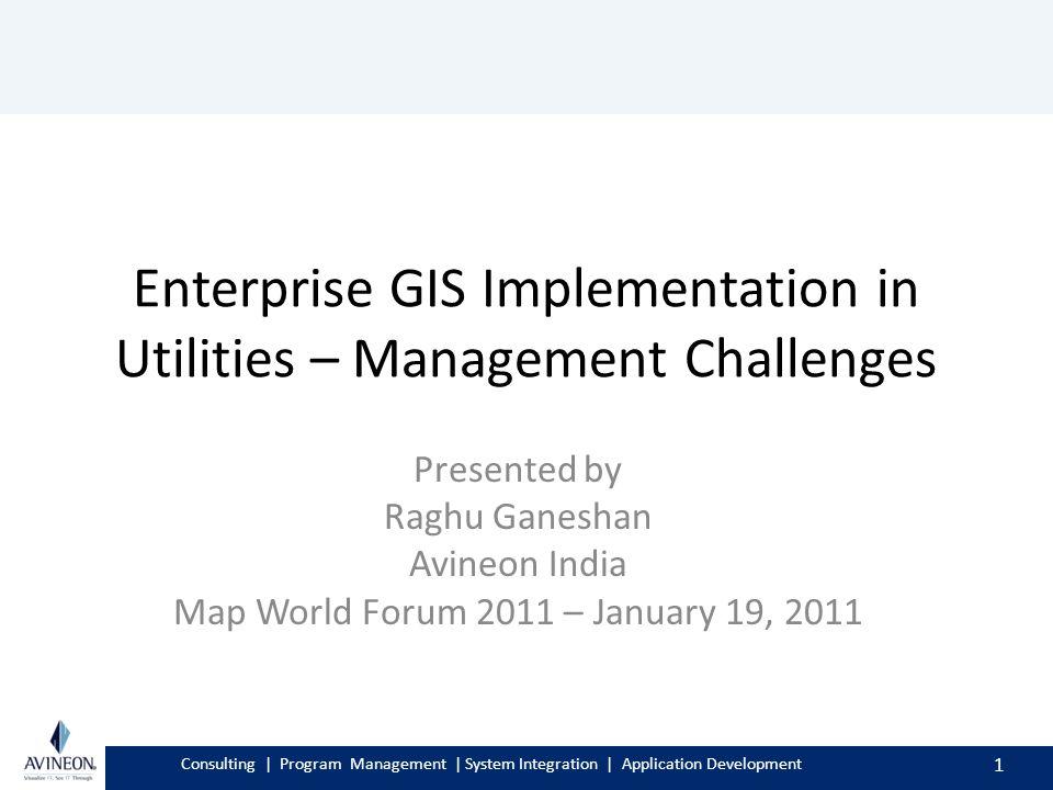 Consulting | Program Management | System Integration
