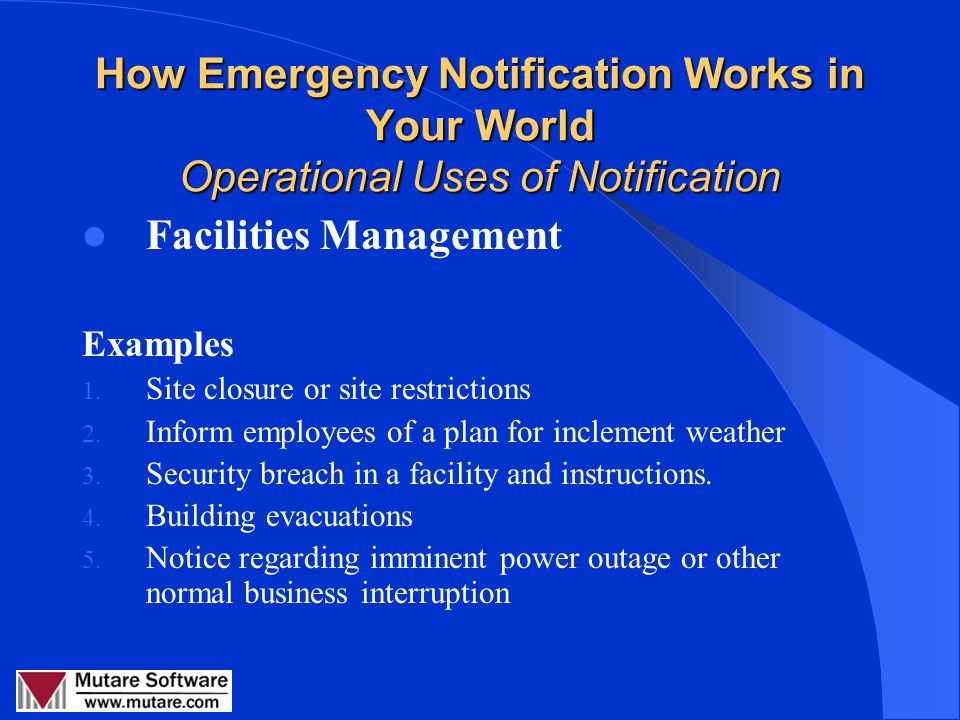 Emergency & Event Communications RMAUG August 8, 2007 Linda Collins, Mutare Software. - ppt download - 웹