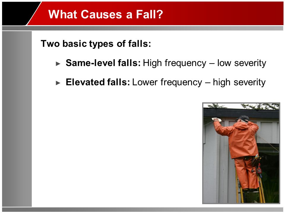 What Causes a Fall.