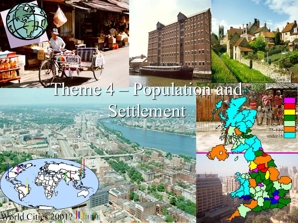 Theme 4 – Population and Settlement