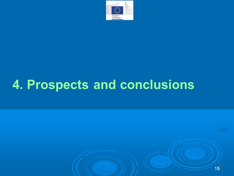 4. Prospects and conclusions 15