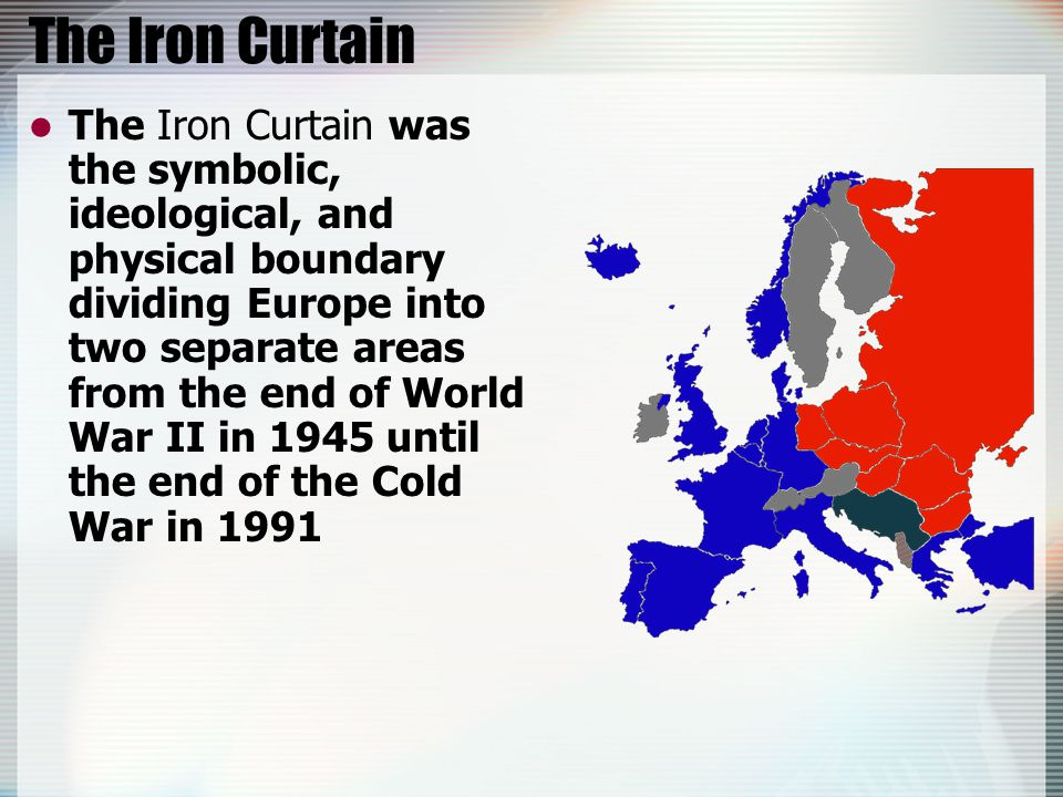 truman the iron curtain and containment in europe truman the iron