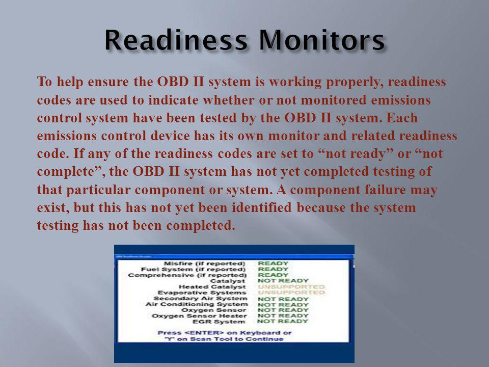 On Board Diagnostics (OBD) Emissions Certification Course Inspection