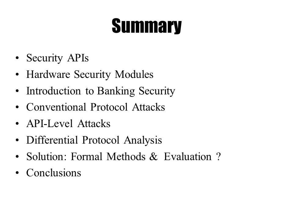 Differential Protocol Analysis & API Level Attacks Mike Bond