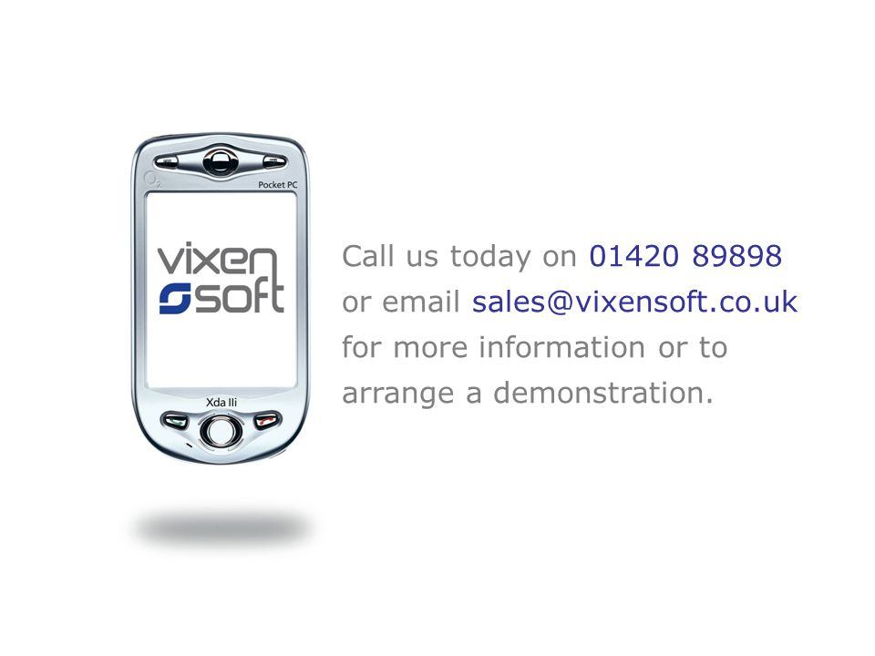 An introduction to ViXEN Remote Requisitions  Click to advance each