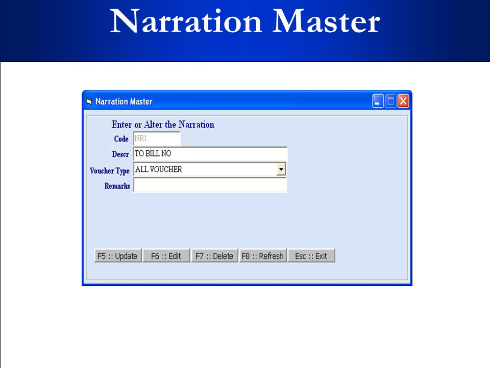 Narration Master