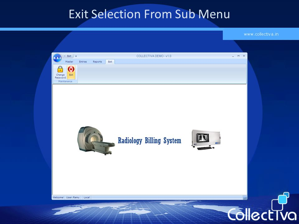 Exit Selection From Sub Menu