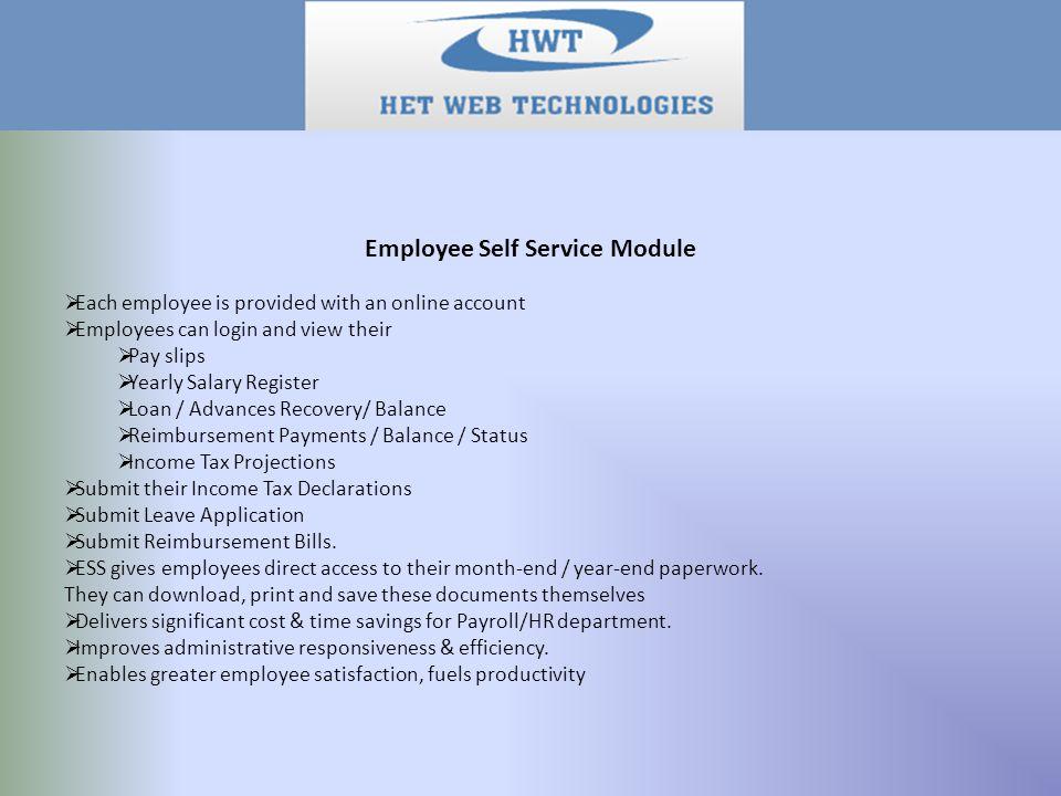 Web Based Payroll Management Software  Complete Payroll/HR