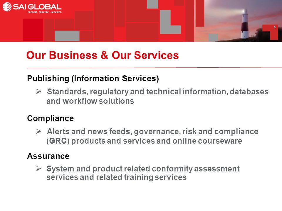 1 SAI Global Limited ABN: SAI Global Limited ASX Code: SAI Macquarie
