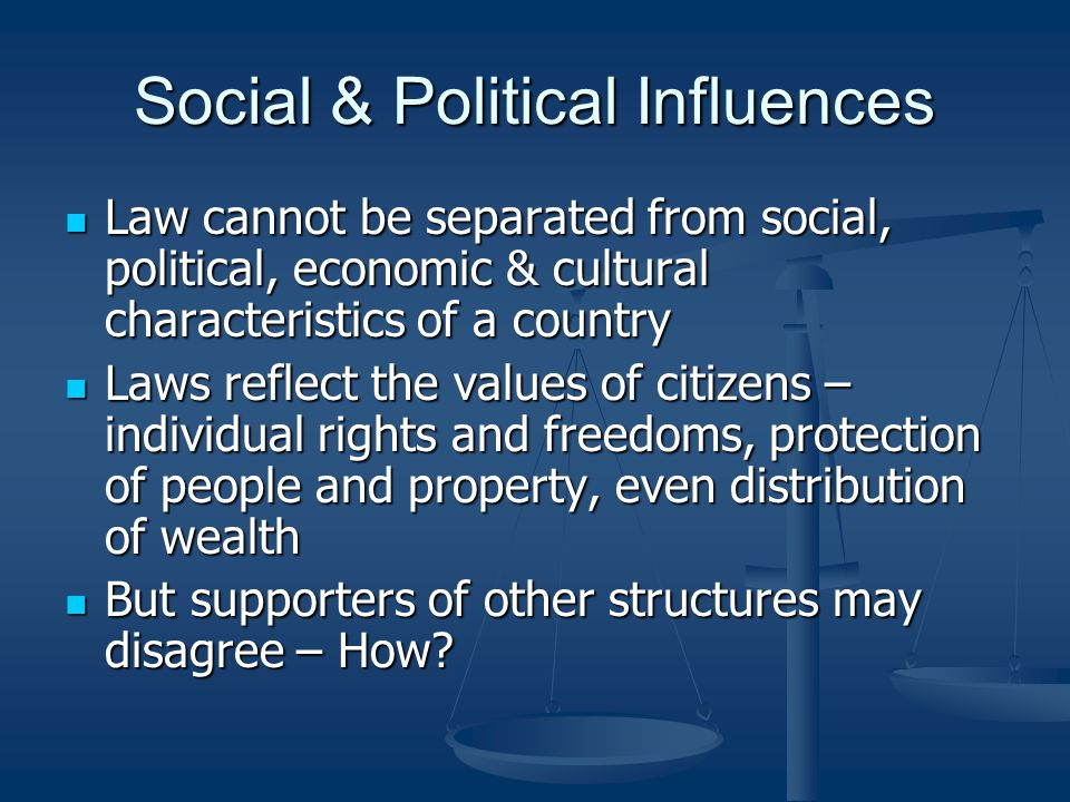 influence of a countrys political forces on Introduction a country's level of development is influenced by a number of interrelated factors while it is difficult to separate these factors, they can be broken down into five major categories: historical, political, economic, social and environmental.